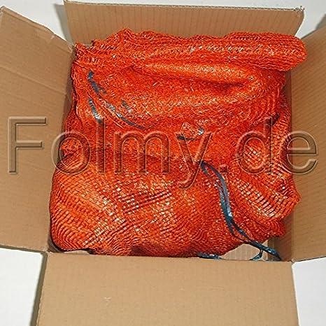 Kartoffels/äcke Raschels/äcke 500 x 800 mm goldgelb 25 kg mit Zugband 10 St/ück