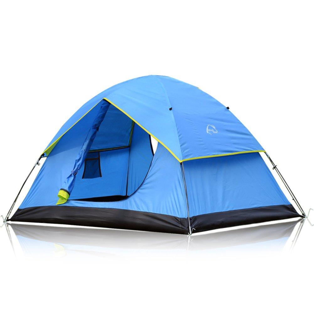 Outdoor camping Zelt für zwei Personen Camp Doppel-Wind Regen Zelt