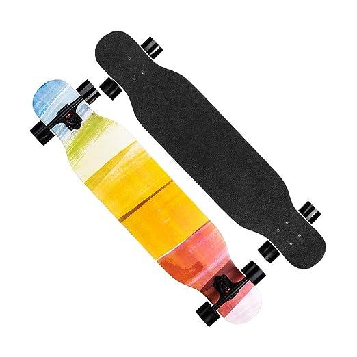 Patinetes clásicos Skateboard Long Skateboard Regalo Estilo ...