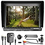 Neewer NW759 7 Inches 1280x800 IPS Screen Camera Field Monitor - 16:10 Ratio; for Sony Canon Nikon Olympus; Includes 1 US Plug Charger, 1 Mini HDMI Cable, 1 AV Cable for FPV, (Battery Not Included)