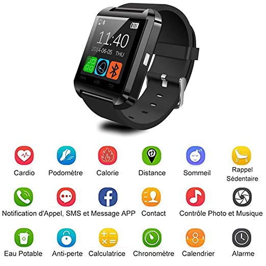 ADTECK ALCATEL One Touch Idol X Watch Connected, Smartwatch ...
