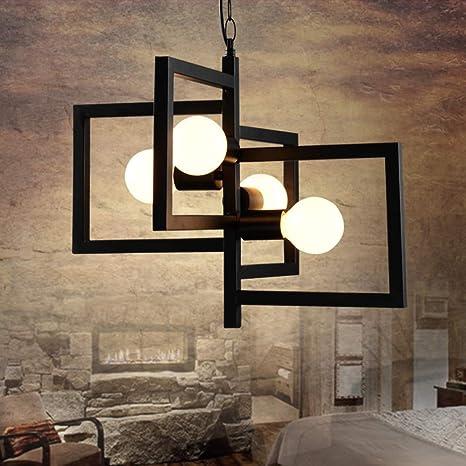 Lámpara colgante vintage retro industrial Luces colgantes ...