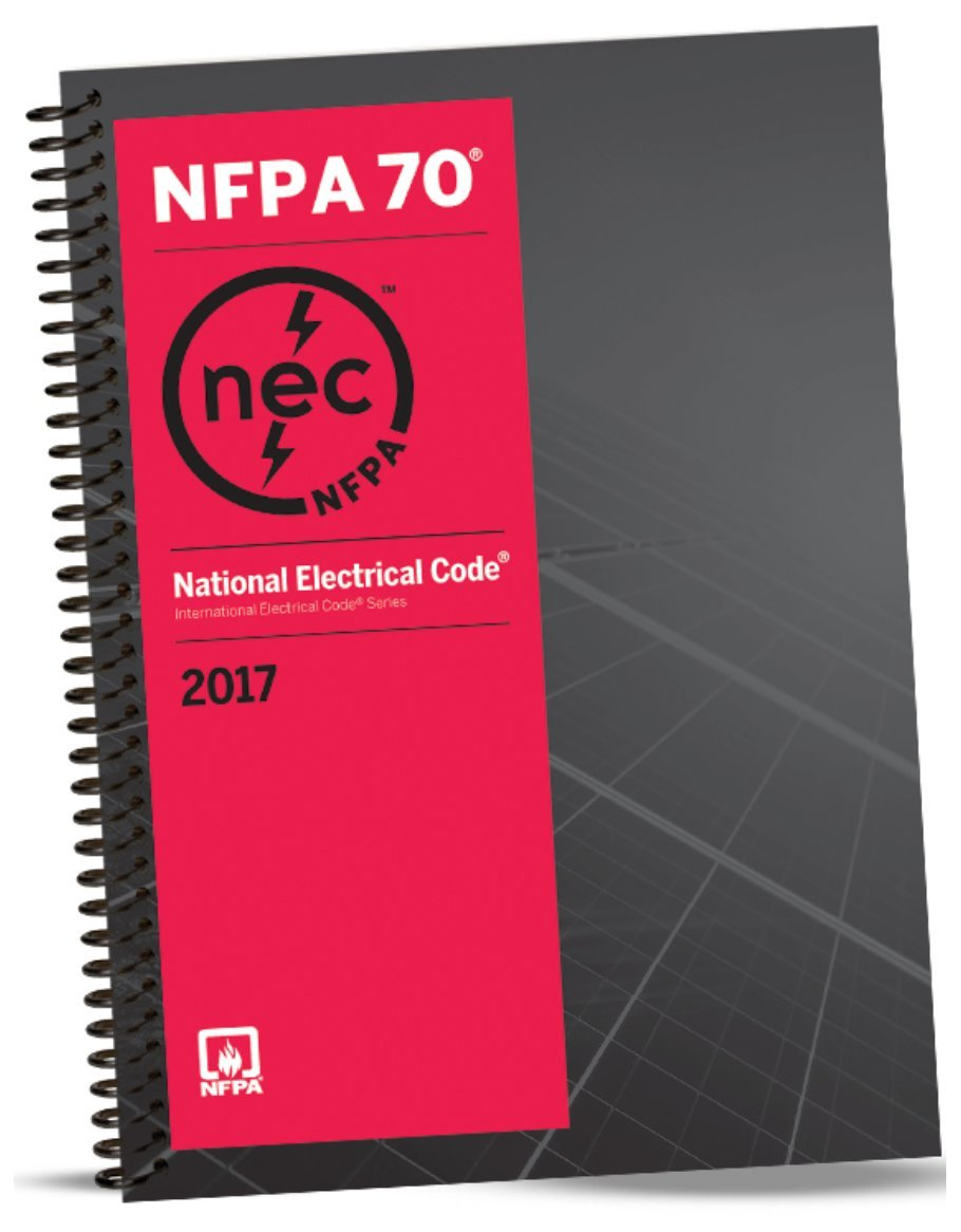 NFPA 70 Spiral: National Electrical Code (NEC), Spiralbound, Fast Tabs and NEC Quick Card, Set, 2017 Editions