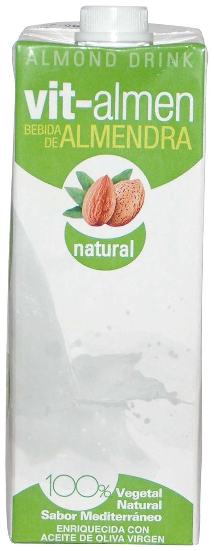 Vit-almen Bebida Natural de Almendra - Paquete de 6 x 1L. - Total 6L: Amazon.es: Alimentación y bebidas