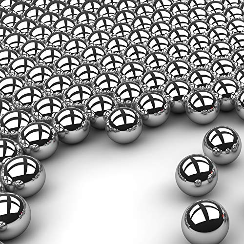 100 7//64 Inch 440 Stainless Steel Bearing Balls G25