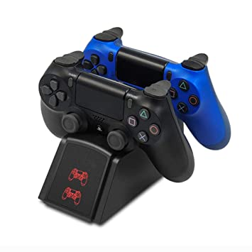 SELCNG Cargador de batería PS4 Cargador Cargador de batería ...