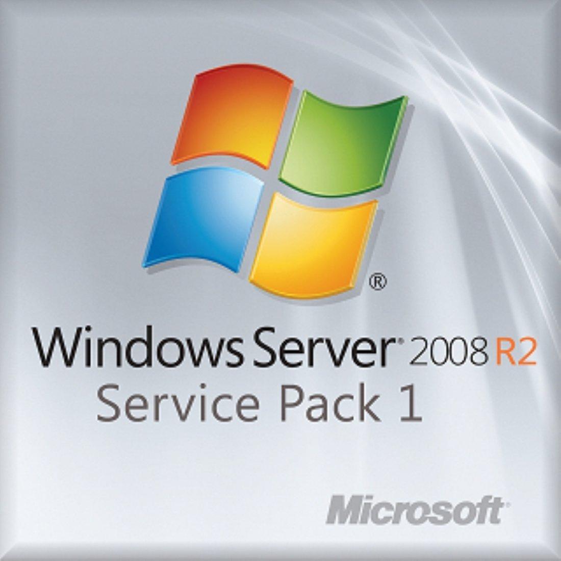 Microsoft Windows Server 2008 R2 Standard SP1 OEM (New Packaging) by Microsoft