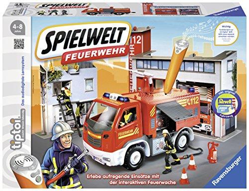 Ravensburger tiptoi 00760 - Spielwelt Feuerwehr
