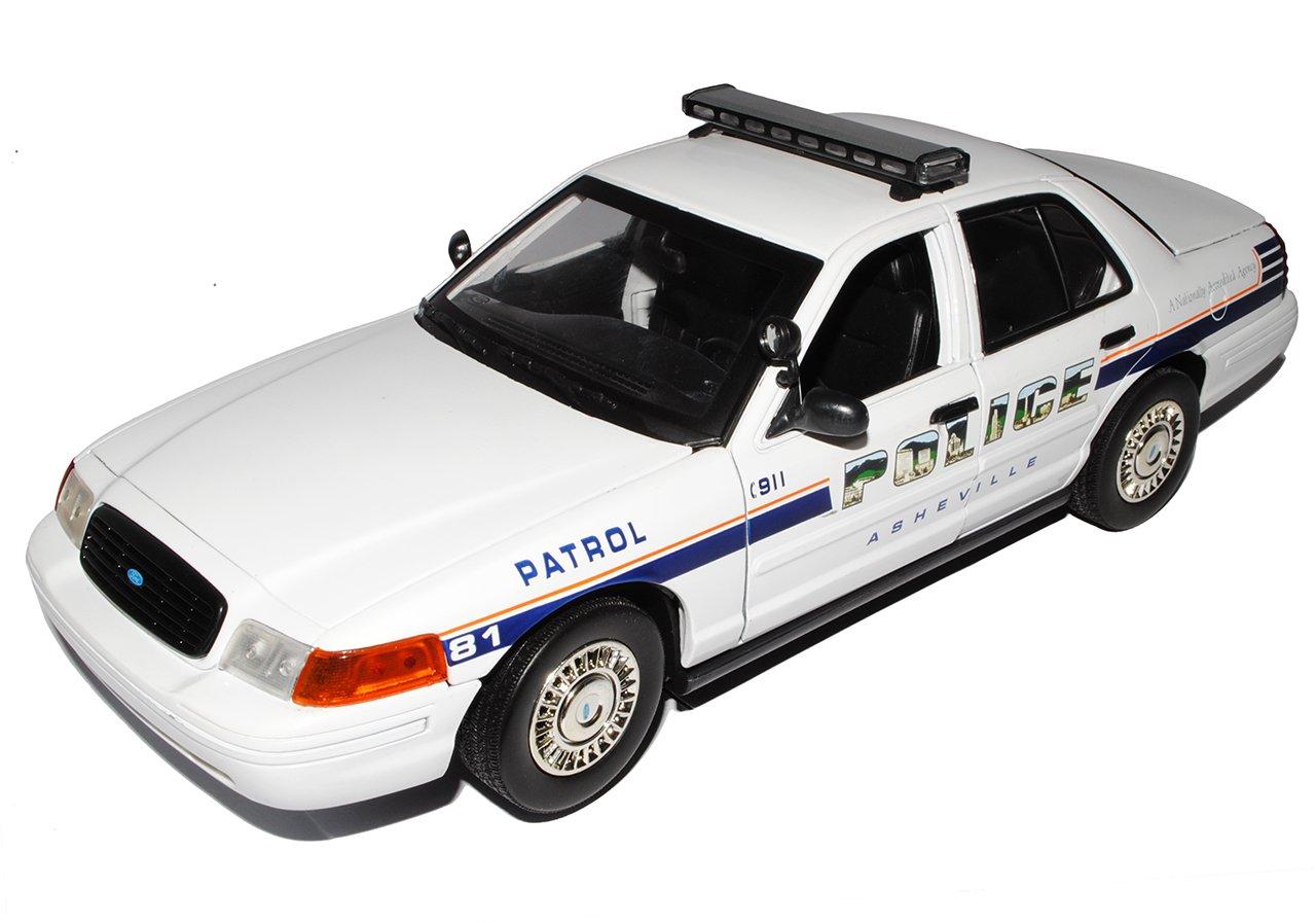 Ford Crown Victoria Asheville Police Polizei 2001 1/18 Motormax ...