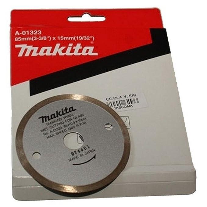 Makita B-21098 - Disco de diamante especial vidrio: Amazon ...