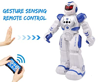 Bix Robots Toys For Kids,Interactive Toy Walking Singing Dancing  Programmable Gesture Sensing,Robotics Toys for Boys