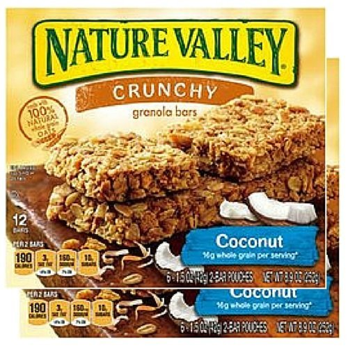 - Nature Valley Crunchy Granola Bars - Coconut - 8.9 oz - 6 ct by Nature Valley