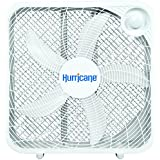 Hurricane HGC736501 Floor Fan-20 Inch, Classic Series, 3 Energy Efficient Speed Settings Compact Design, Lightweight-ETL Listed, 20-Inch, White
