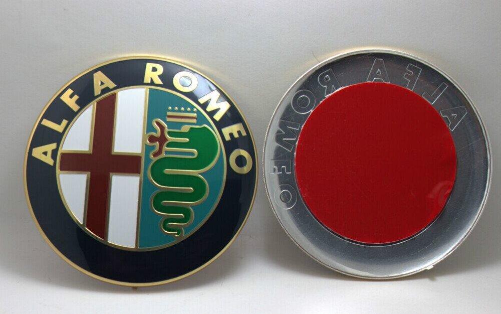 Logo avant ou arriè re Emblè me Mito Giulietta Brera 147 159 GT car passion