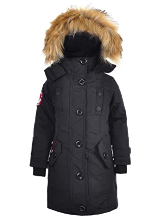 1aa5d682d Amazon.com: CANADA WEATHER GEAR Little & Big Girls' Jacket: Clothing