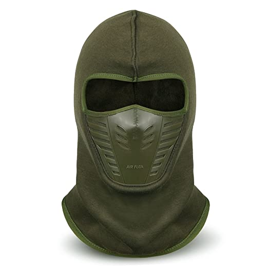VBIGER Balaclava Ski Mask Windproof Ski Cap For Skiing   Snowboarding    Cycling (Army Green dcdf7a28717
