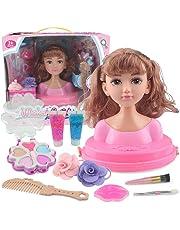Amazon.es: Maniquíes para peinar y maquillar: Juguetes y