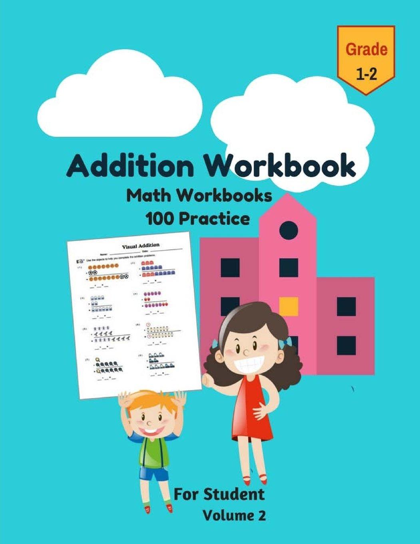 Amazon.com: Addition Workbook Math Workbooks 100 Practice For ...