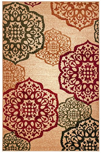 Summit S10 New Area Rug Modern Abstract Rug, 2x3 2x7 4x6 5x8 8x10 (5x8 Actual is 4'.10''x7'.2'') - Made in Turkey Wool blended heat set olefin twisted yarn No fringe for clean design - living-room-soft-furnishings, living-room, area-rugs - 61H728zr1IL -