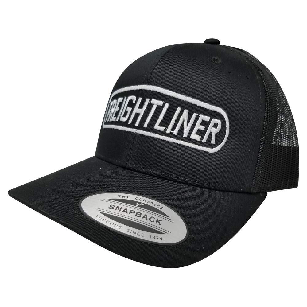 Yupoong Freightliner Logo Hat Adjustable Snapback Custom Trucker Cap for Women and Men