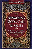 Answering God's Call to Quiet, Neva Coyle, 1556619383