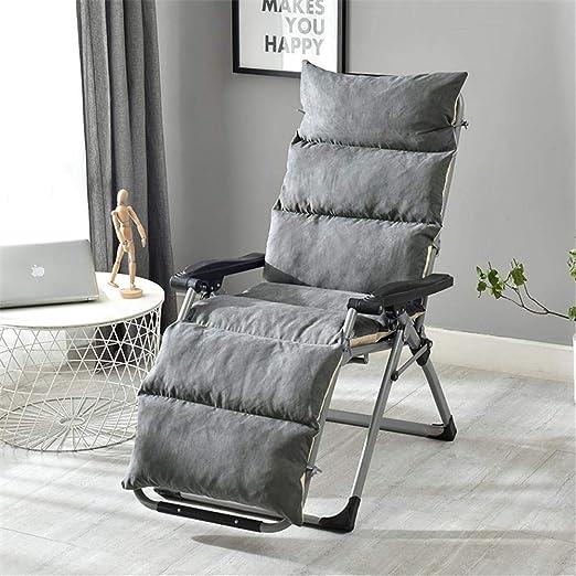 RecoverLOVE Chaise Longue Chaise Cushion Patio Chair Cojines extra/íbles Antideslizantes Silla Mecedora Sof/á de una Pieza Coj/ín Plegable Interior Tatami Exterior para jard/ín Patio
