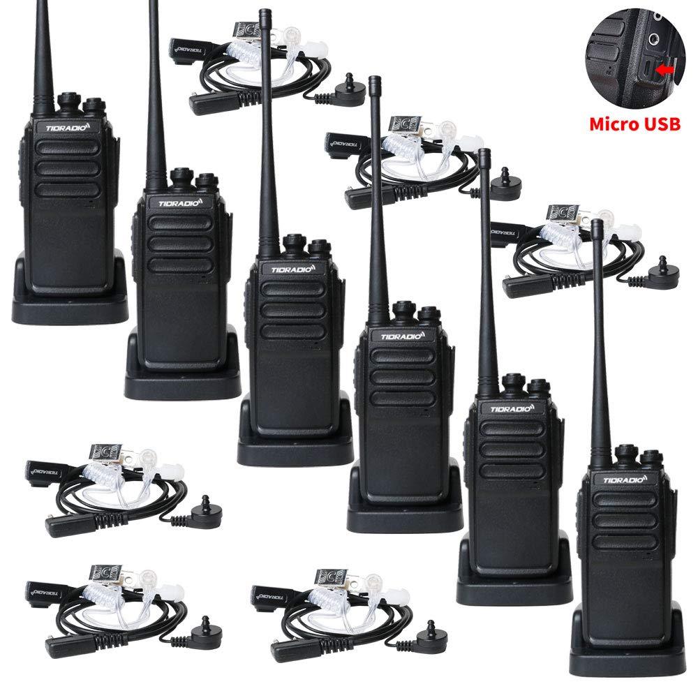 Walkie Talkies for Adults Long Range Walkie Talkies Rechargeable VOX UHF Radio USB Charging Two Way Radios 6Pack