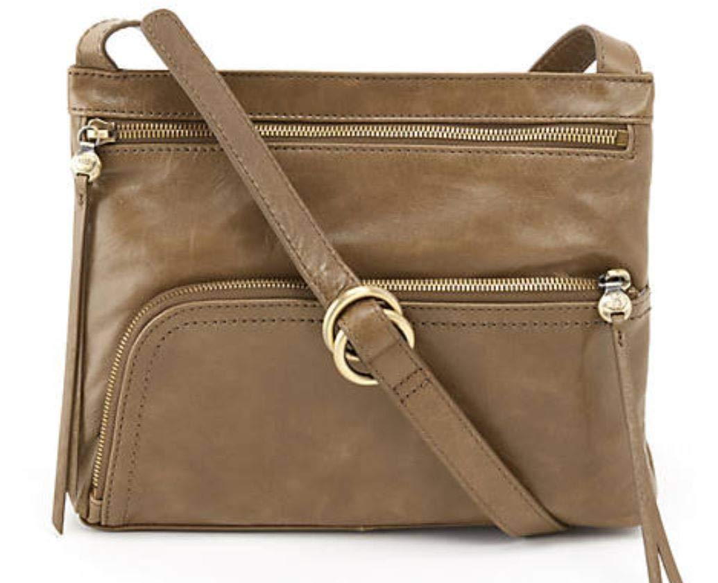 Hobo Womens Genuine Leather Vintage Cassie Crossbody Bag (Mink)