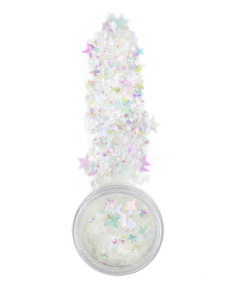 iHeartRaves Chunky Moon Dust XL Disco Dreams Glitter for Festivals Beauty Makeup Face Body Hair Nails Raves (15 grams)