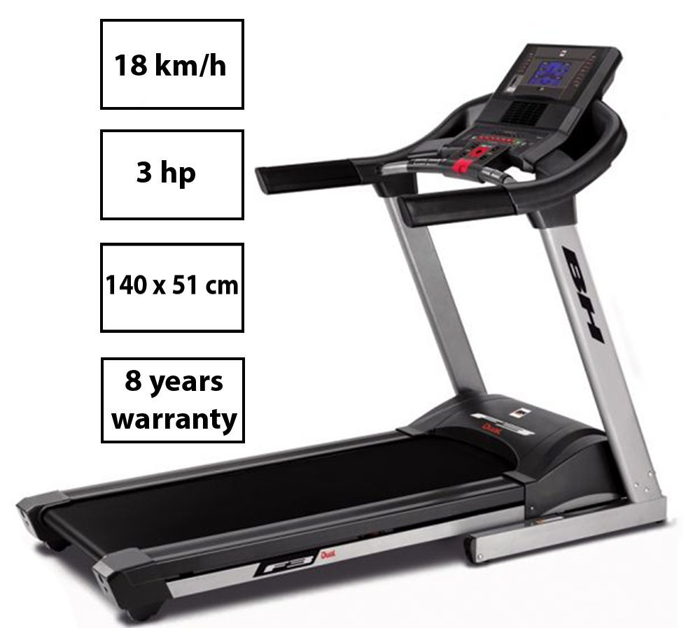 BH Fitness - Cinta de Correr i.F3 Dual + Dual Kit T: Amazon.es ...