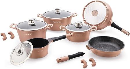 Royalty Line Batterie De Cuisine 14 Pieces Induction Ceramique