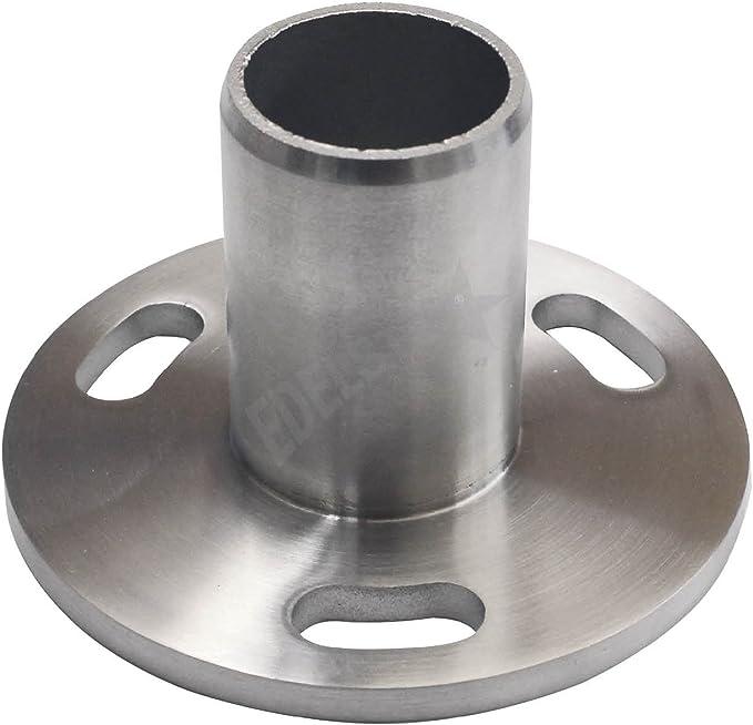 Edelstahl Rundrohr V2A /Ø 8x1mm L/änge 100mm K240 10cm auf Zuschnitt