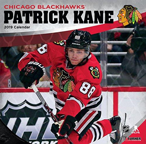 Turner 1 Sport Chicago Blackhawks Patrick Kane 2019 12X12 Player Wall Calendar Office Wall Calendar (19998012091) (Blackhawks Best Player 2019)