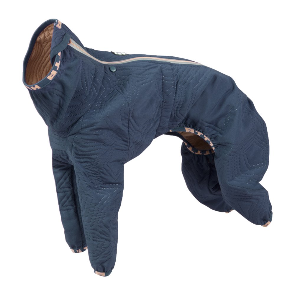 Hurtta Casual Quilted Globale Dog Coat, River, 16L