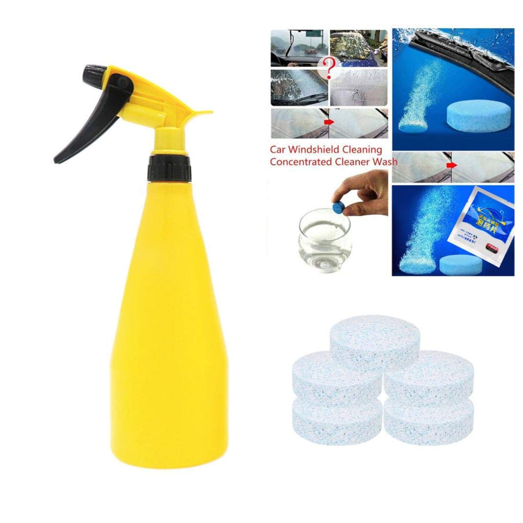 Nesix Multi Functional Effervescent Spray Cleaner Set With 1 Spray Bottle - All Purpose Home Cleaning Effervescent Spray Cleaner (5PC)
