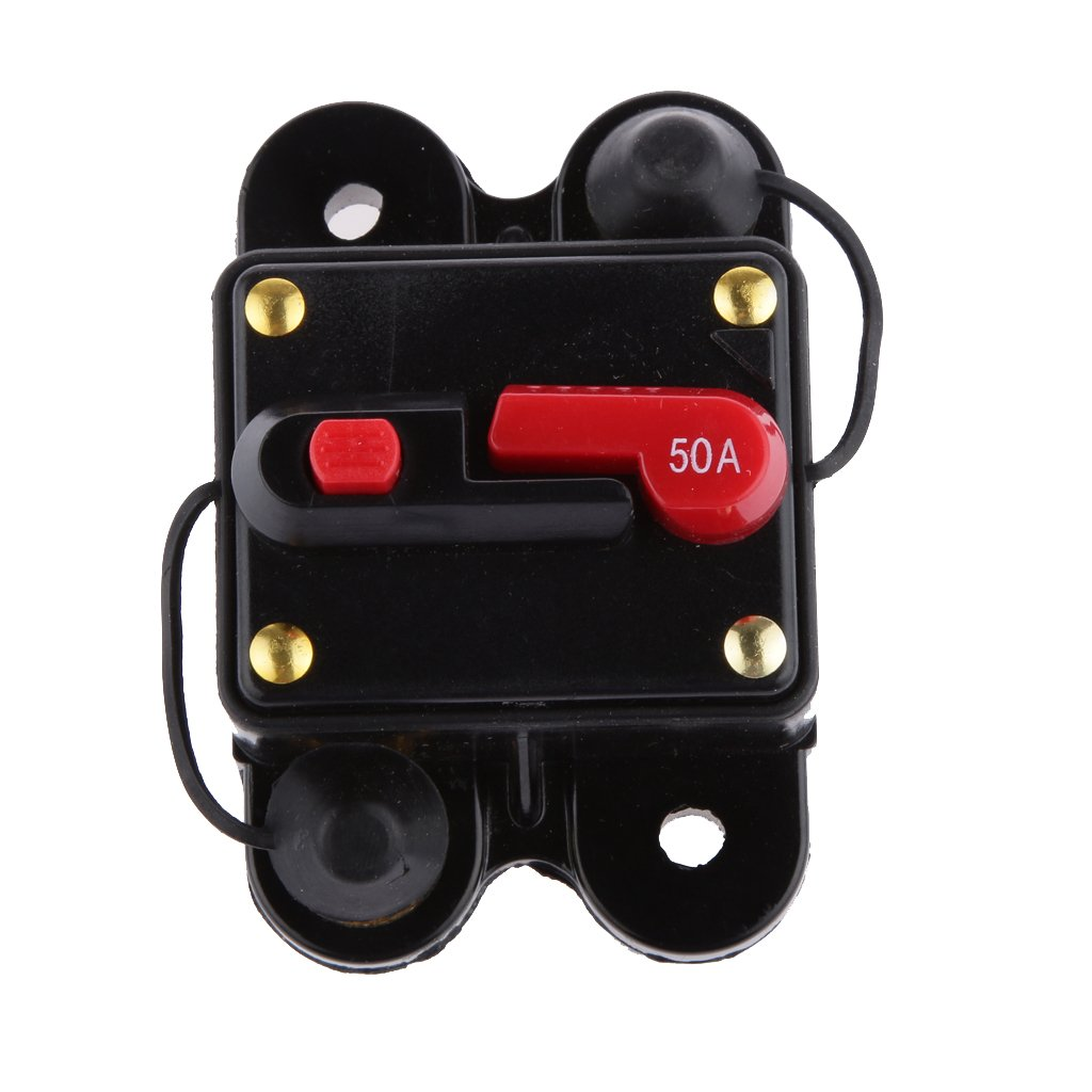 Monkeyjack 12v 24v Inline Waterproof Circuit Breaker 30 Details About Dc Car Audio Fuse 30amp Amp 30a 50amp Manual Reset Switch Automotive