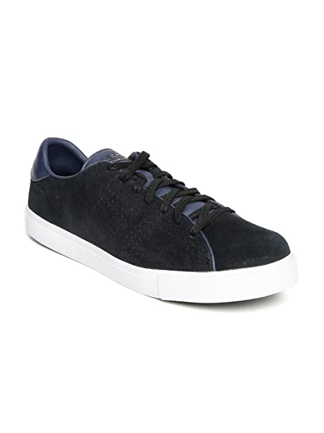 Buy adidas neo Men Black Daily Line Suede Sneakers at Amazon.in