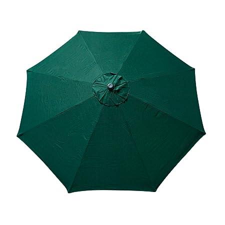 Apontus 39617 8 Rib Umbrella Cover, 9', Green