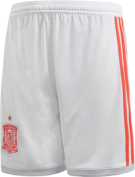 adidas Spain Away Replica Masculino Rojo, Blanco - Pantalones Cortos (Deporte, Masculino, Niño, Rojo, Blanco, Baby (Height), Monótono): Amazon.es: Ropa y accesorios