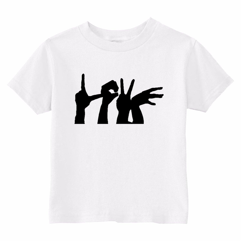 Custom Kids Love Hands Toddler T-Shirt U.S