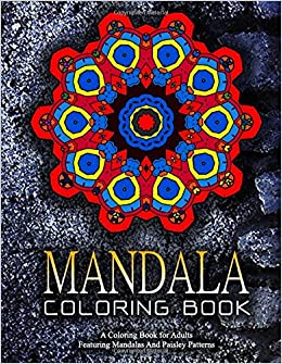 Amazon MANDALA COLORING BOOK