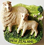 Sheep NEW ZEALAND Resin 3D fridge Refrigerator Thai Magnet Hand Made Craft. by Thai MCnets