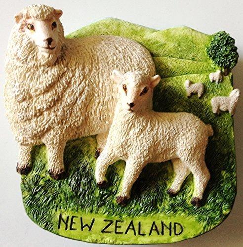 Sheep NEW ZEALAND Resin 3D fridge Refrigerator Thai Magnet Hand Made Craft. by Thai MCnets