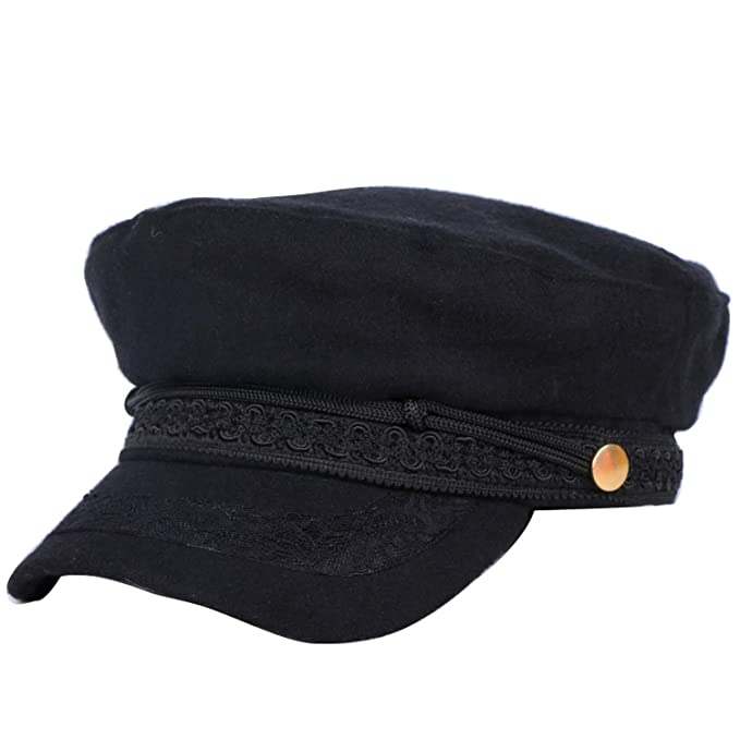8a394b65819b4 Women Wool Winter Cap Warmer lace Style Berets Thick 56-57 cm ...