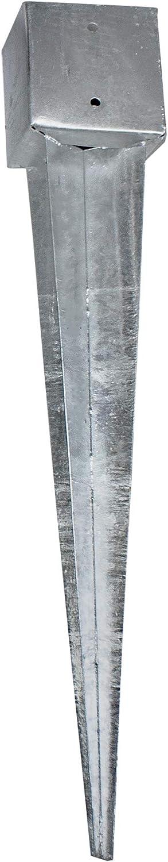 Bodenanker Erdanker L/änge: 750mm oder 900mm Einschlagh/ülse Vierkant Einschlagbodenh/ülse Einschlagh/ülse 750x71x71 mm
