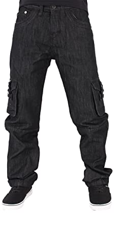 1c9892abe Peviani Mens Boys Cargo Combat Star Jeans G is Time Hip Hop Nappy Money PV-
