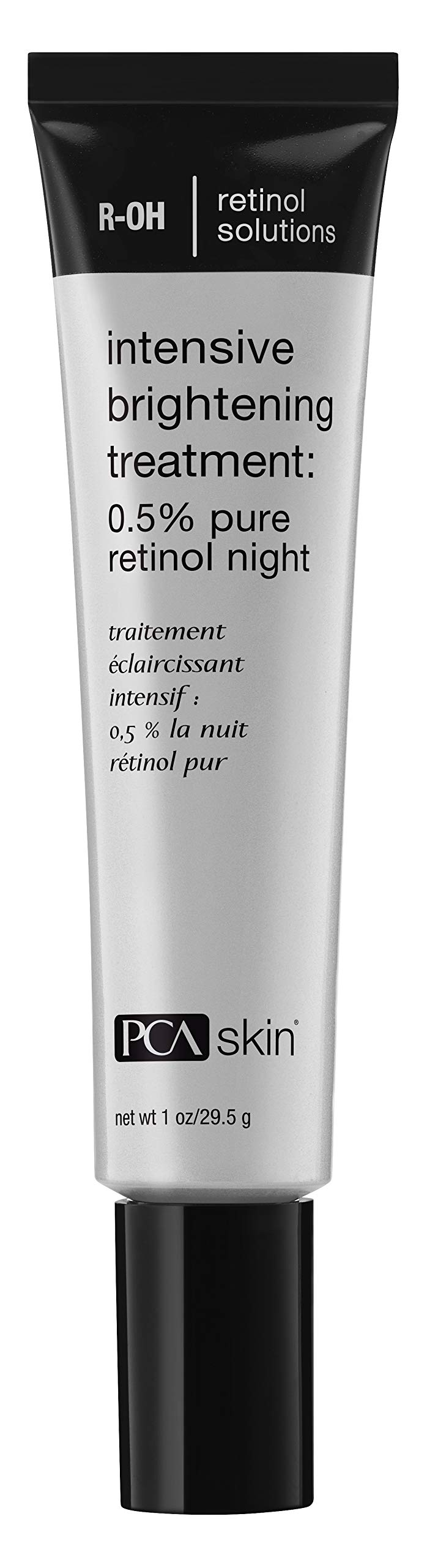 PCA SKIN Intensive Brightening Treatment: 0.5% pure retinol night, Discoloration Nighttime Treatment, 1 fluid ounce