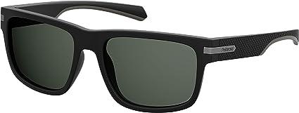 Polaroid PLD 2066/S Gafas de sol, Negro (MTT BLACK), 55 Unisex Adulto