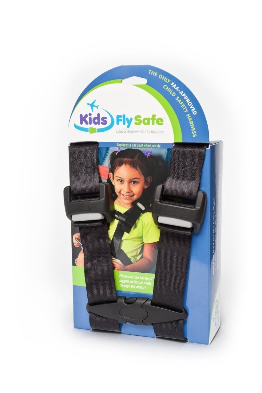 Cares Child Airplane Travel Harness - Cares Safety Restraint System - The Only FAA Approved