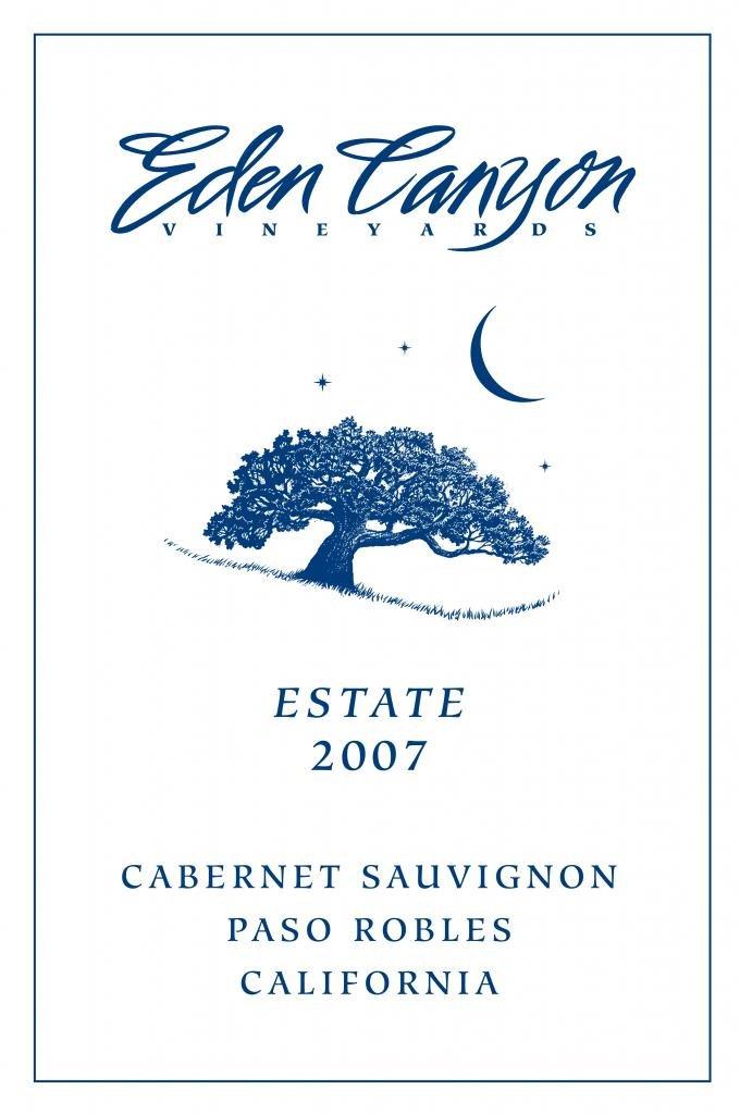 2007 Eden Canyon Vineyards ''ESTATE'' Cabernet Sauvignon1.5 L Magnum